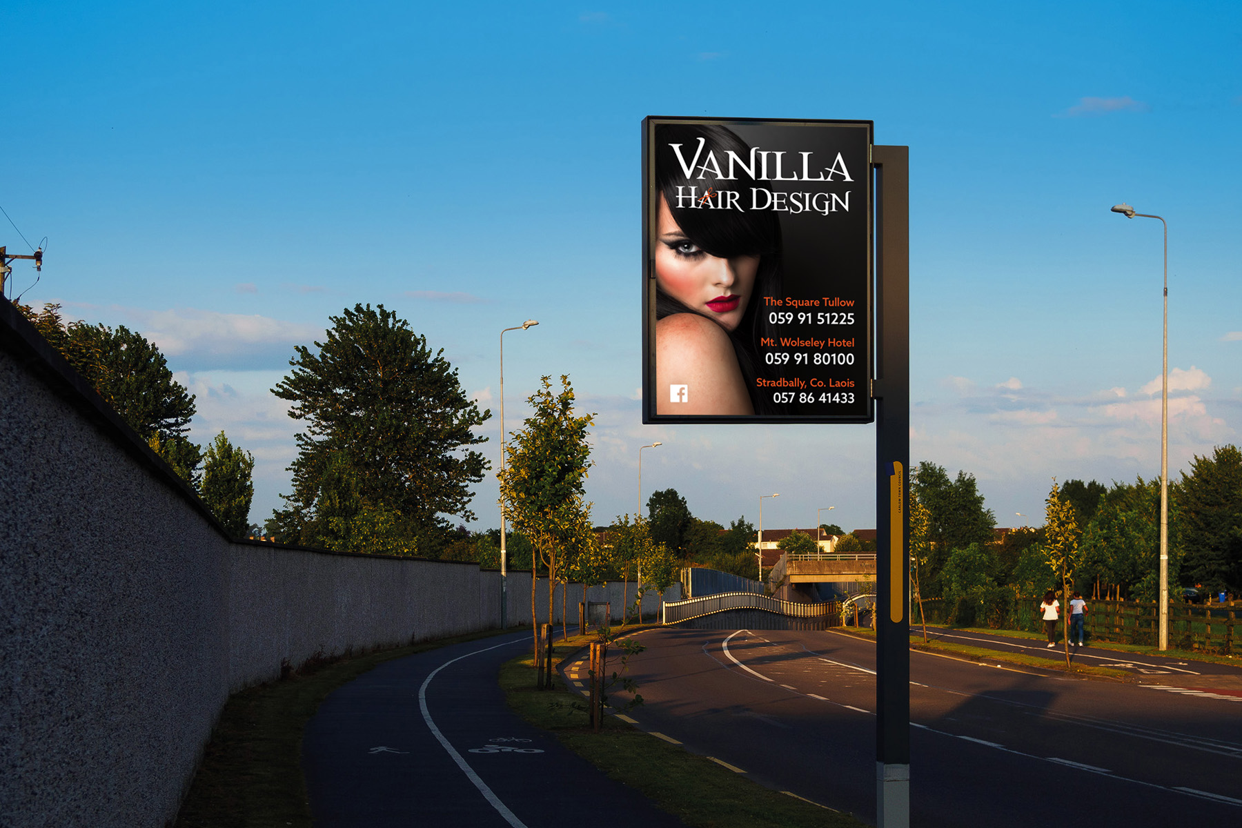 Bee Visible Roadside Displays - Touchpoint Media, Carlow