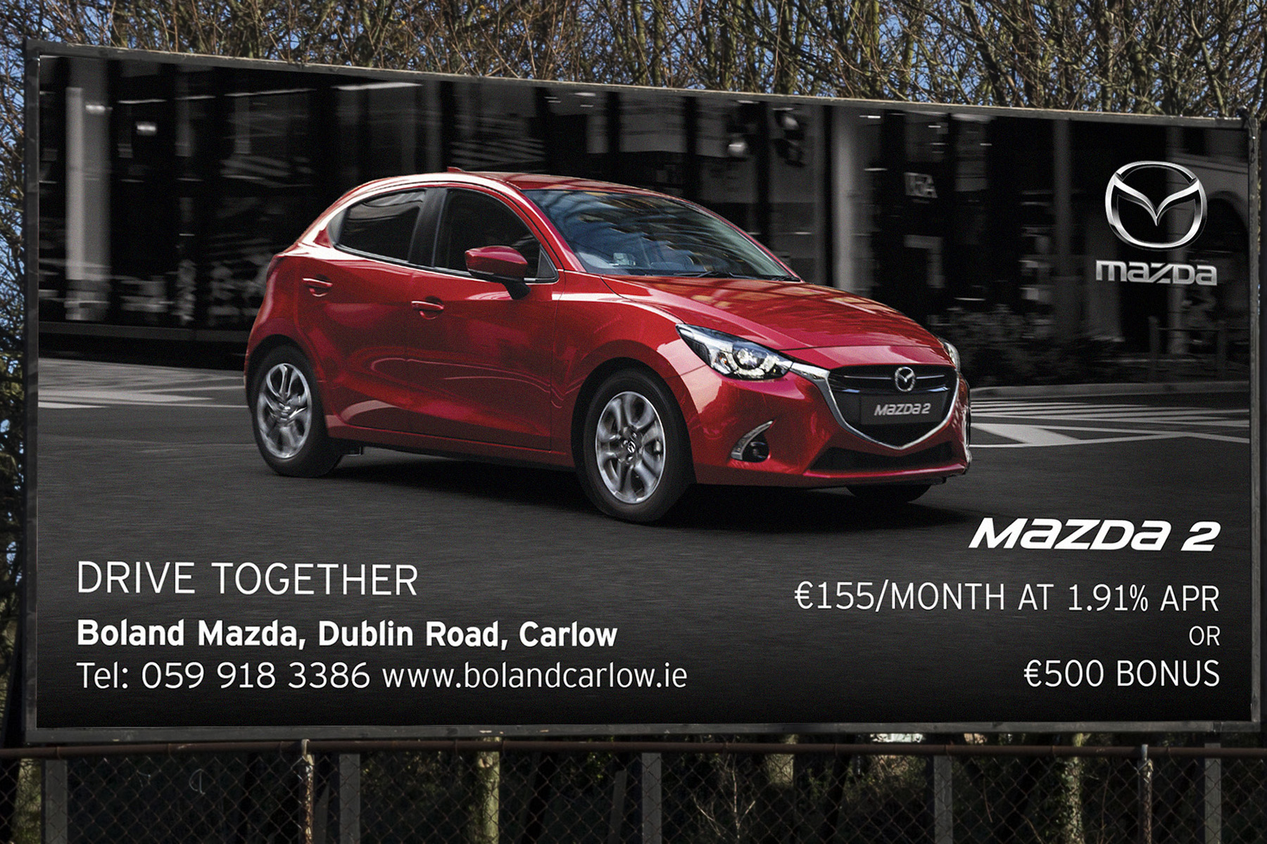 Billboard Advertising - Touchpoint Media, Carlow